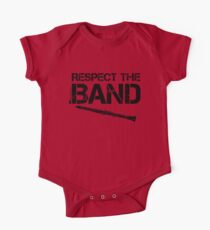 Respect The Band - Clarinet (Black Lettering) One Piece - Short Sleeve