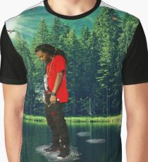 you can walk on water don't look down Graphic T-Shirt