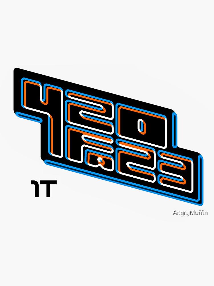 420FAZ3 - Logotipo negro de AngryMuffin
