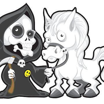 Horseman #4: Death by KimberArt