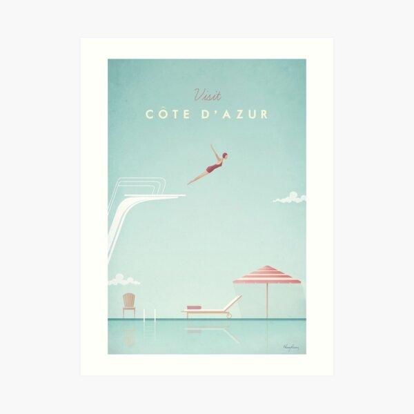 Visit CoteDAzur Art Print