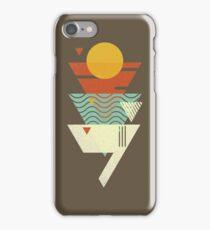 Sun. Sea. Sand. Shark. iPhone Case/Skin