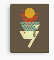 Sun. Sea. Sand. Shark. Canvas Print