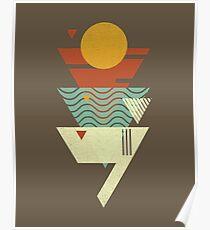 Sun. Sea. Sand. Shark. Poster