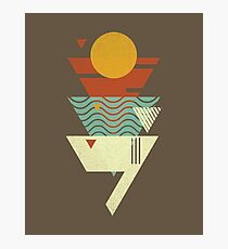 Sun. Sea. Sand. Shark. Photographic Print