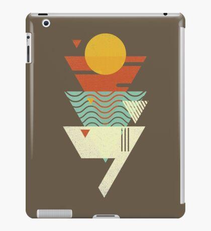 Sun. Sea. Sand. Shark. iPad Case/Skin