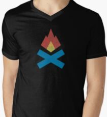 Campfire Men's V-Neck T-Shirt