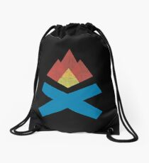 Campfire Drawstring Bag