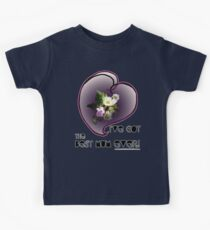 wildflower, Best Mum EVER! heart quirky Kids Clothes
