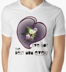 wildflower, Best Mum EVER! heart quirky T-Shirt