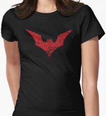 Batwoman Symbol Womens Fitted T-Shirt
