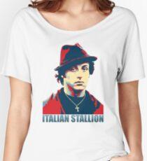 ITALIAN STALLION Women's Relaxed Fit T-Shirt