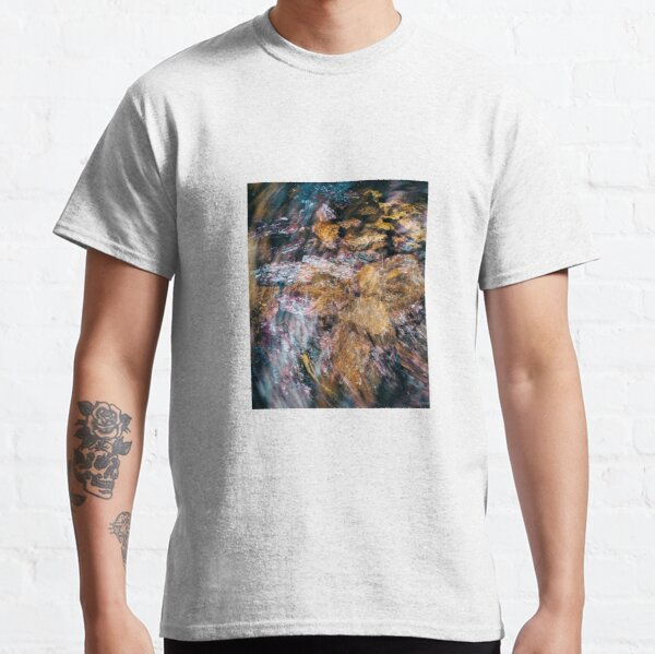 Sequoia Tree Bark Abstract Classic T-Shirt