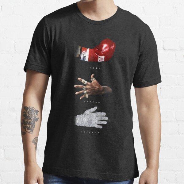 michael, jordán, jackson, tyson, michael jordan, michael jackson, mike tyson Camiseta esencial