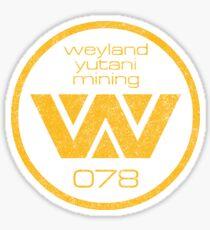 Weyland Yutani Mining Sticker