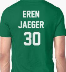 Attack On Titan Jerseys (Eren Yaeger) T-Shirt