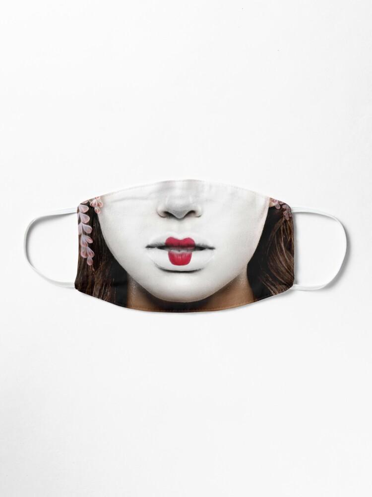 Alternate view of Geisha face mask Mask