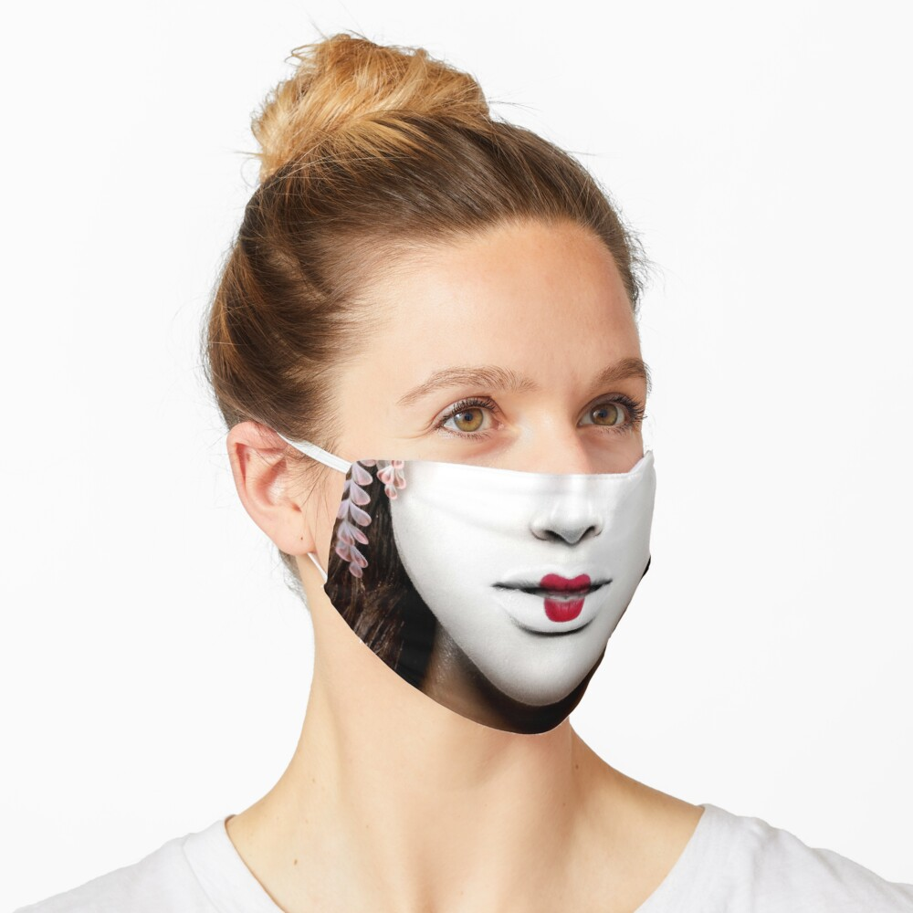 Geisha face mask Mask