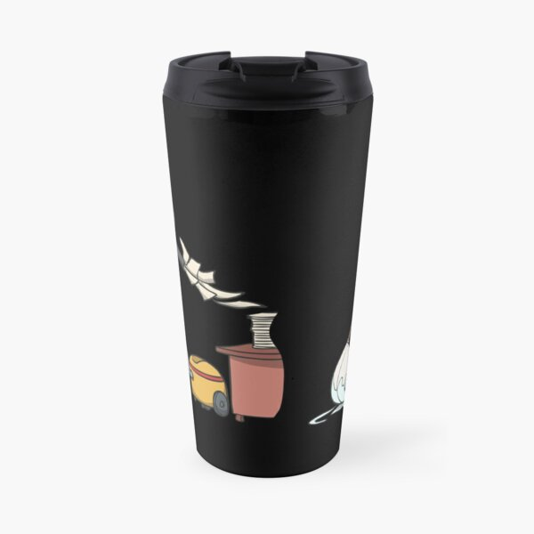 Cleaner vacuum cleans office documents Travel Mug