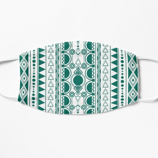 Bohemian Ornament 30122020 grün Flache Maske
