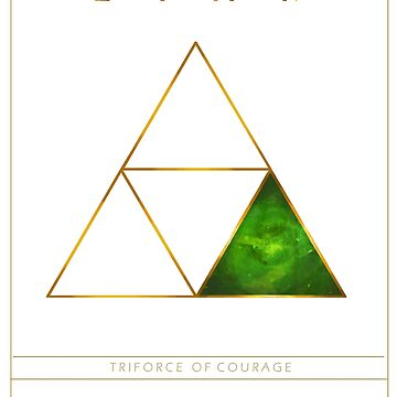 Triforce Designs - Farore's Courage Edition by ellie-ant