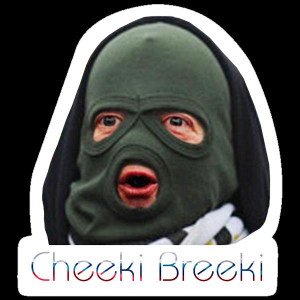 Quot Cheeki Breeki Quot Stickers By Megabass Redbubble