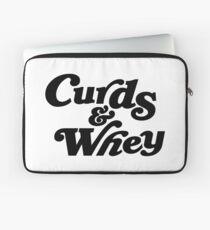 Curds & Whey (Black) Laptop Sleeve