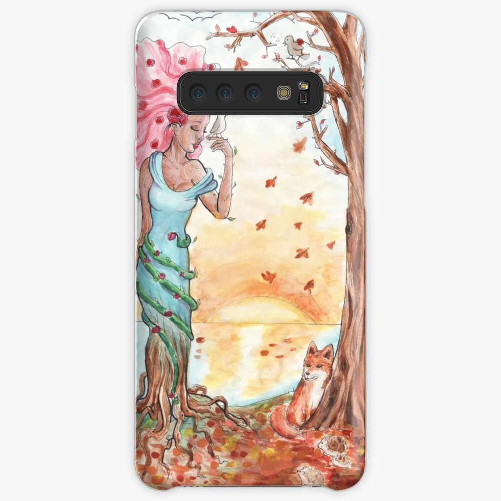 Blooming in the fall Case & Skin for Samsung Galaxy