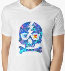 Psychedelic Skull by Pepe Psyche T-Shirt