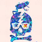 Psychedelic Skull by Pepe Psyche by Pepe Psyche