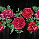 Vintage Roses  by Perrin Le Feuvre