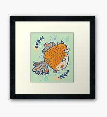 Pomfish Framed Print