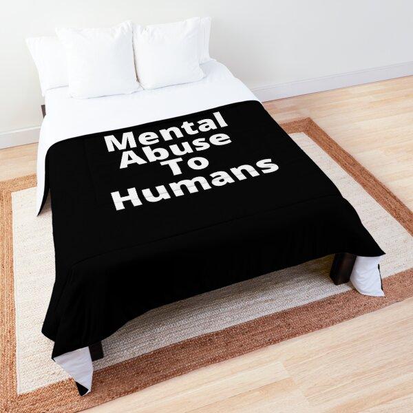 Math mental abuse to humans Comforter