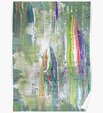Fairy Tale about Forest - Original Wall Modern Abstract Art Painting Poster