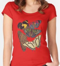 FF - Butterfly-7 Women's Fitted Scoop T-Shirt
