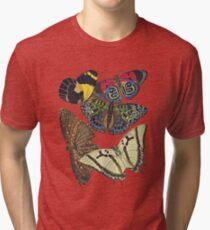 FF - Butterfly-7 Tri-blend T-Shirt