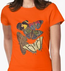 FF - Butterfly-7 Women's Fitted T-Shirt