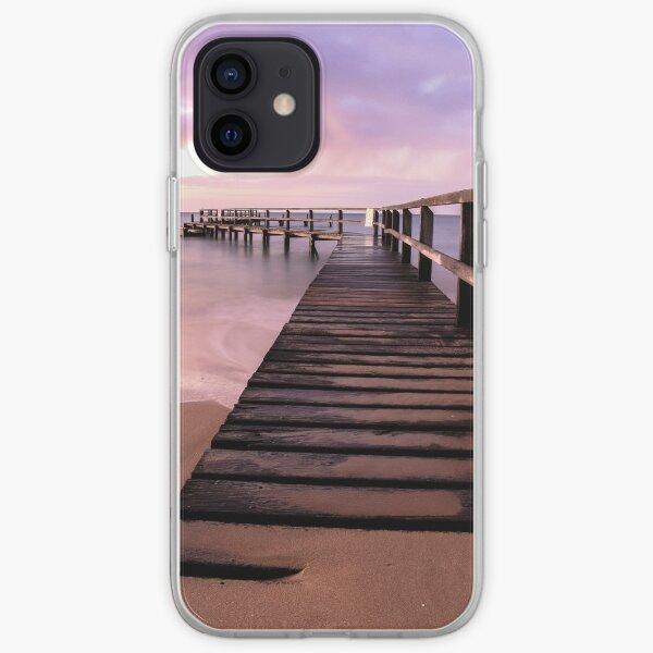 Shelley Beach Pier, Portsea iPhone Soft Case