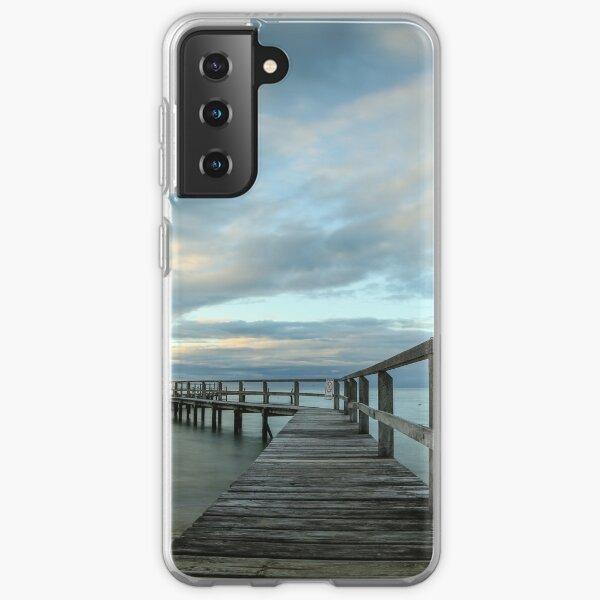 Shelley Beach, Portsea - Blue Samsung Galaxy Soft Case