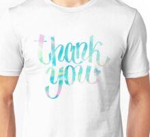 Thank you Unisex T-Shirt