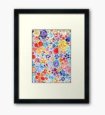 Watercolor Floral Framed Print