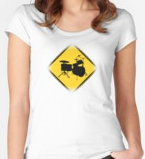 Drummer Zone Women's Fitted Scoop T-Shirt