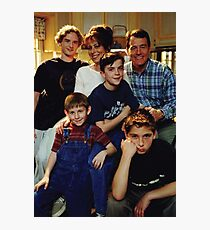 Malcolm in the middle GRAPHIC TEE Photographic Print