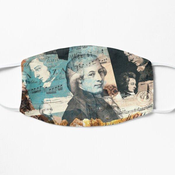 Wolfgang Amadeus Mozart Flat Mask