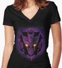 DJD - No Quote Women's Fitted V-Neck T-Shirt