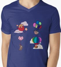 Four Balloon Sloths T-Shirt