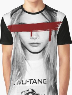 Dead Pop Stars Of Our Youth - Cara Delevigne Graphic T-Shirt