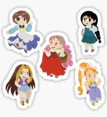 Harvest Moon Girls Sticker