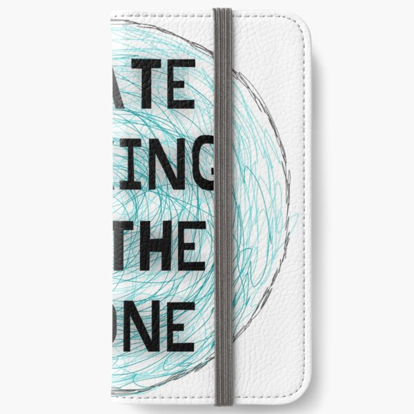 I hate talking on the phone iPhone Wallet