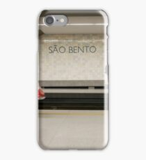 Passengers, Sao Bento Station, Oporto, Potugal iPhone Case/Skin